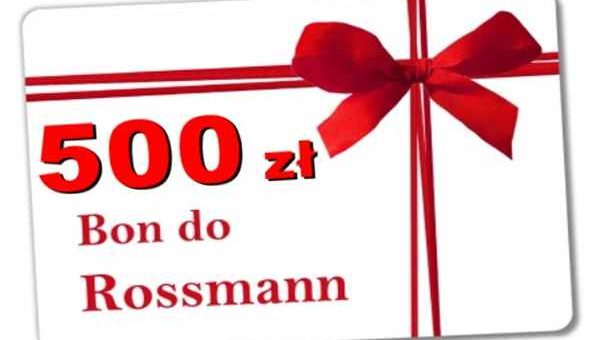 Promocja Rossmann Sianów  bon 500 zł