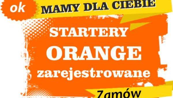 Sprzedam zarejestrowane karty sim orange Skwierzyna  zadzwoń 887 332 665